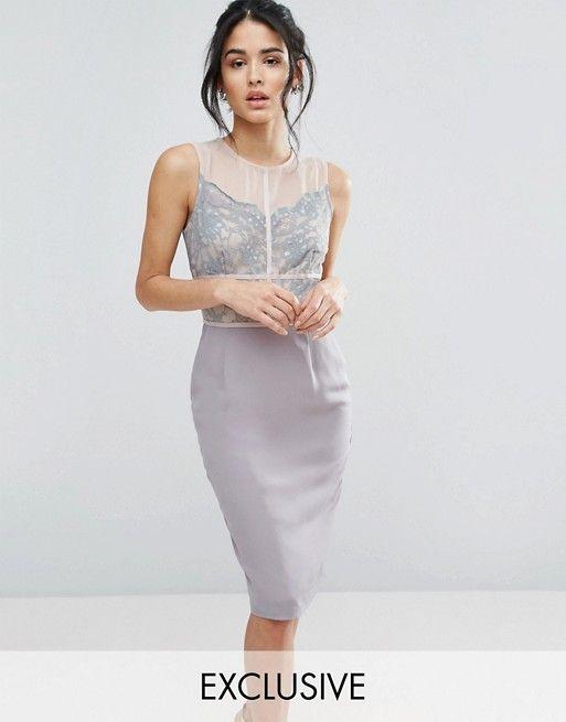 Grey-beige dress