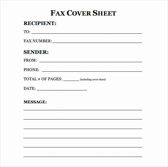 30 Fax Sheet Cover Letter Example In 2020 Cover Sheet Template