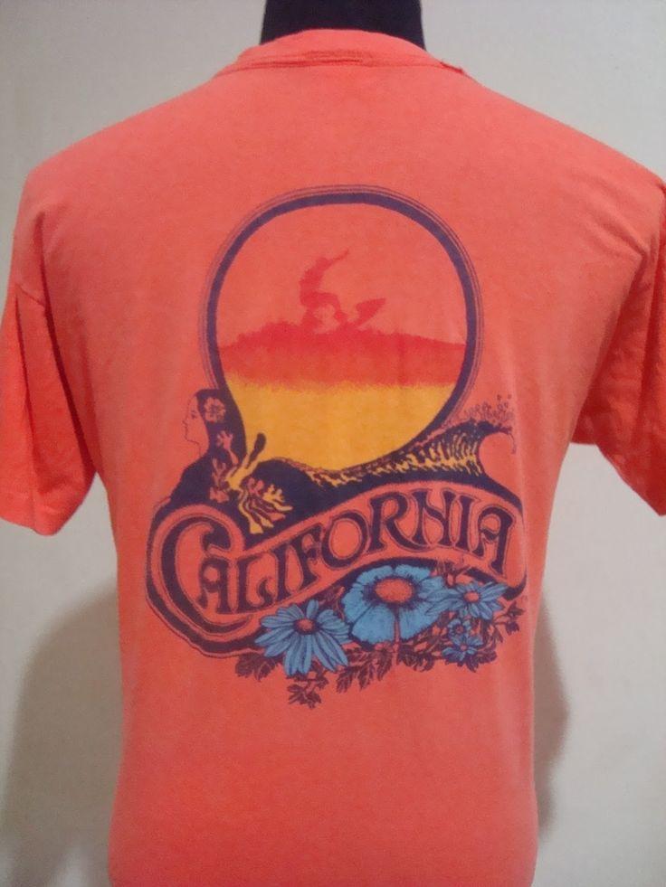 vintage 1980s OP Ocean Pacific beach surf t shirt Large by