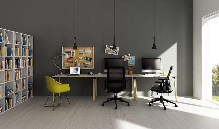 Lm Desk - Dove Seating - Vitesse Seating