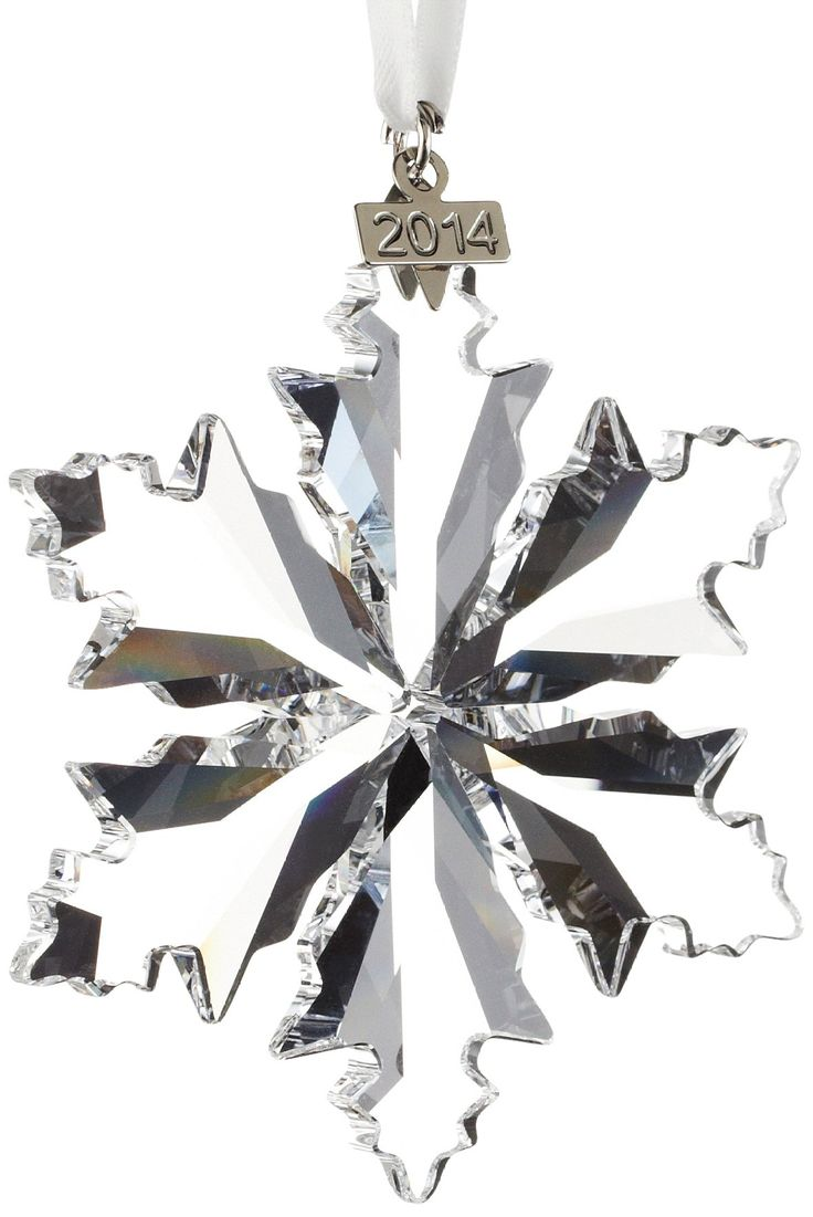 Swarovski christmas ornament 2004 - Annual Swarovski Ornament 2014 Crystal Star