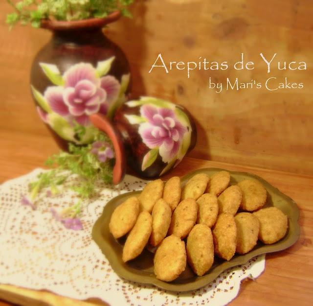 Cassava Fritters / Arepitas de Yuca