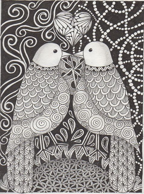 awesome zentangles!