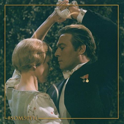 """Julie Andrews and Christopher Plummer """"The Sound of Music"""""""