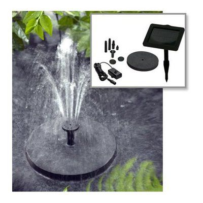 Large selection of Water Fountains including the Smart Solar Sunjet 150+ Solar Powered Fountain Pump by Smart Solar. Free shipping on orders over $50.