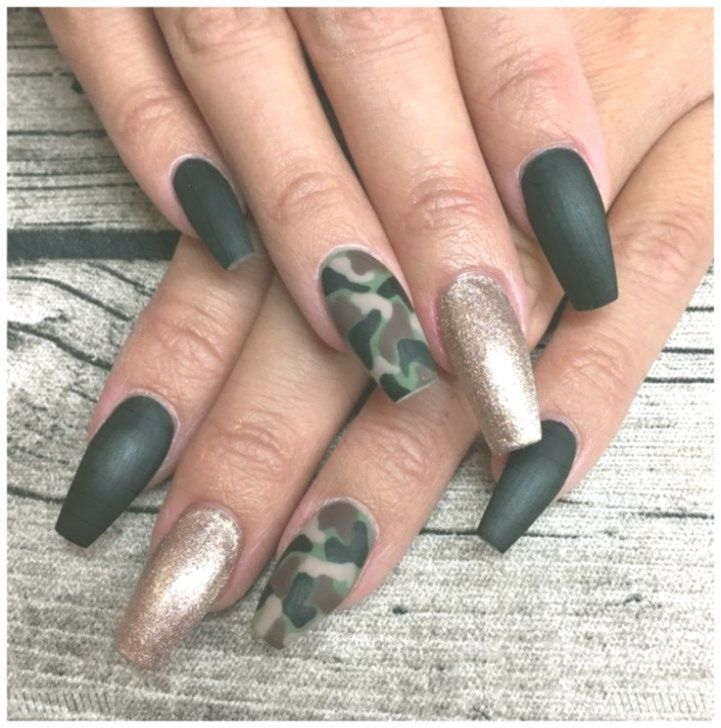 Nagel Muster Nagel Muster Herbst Nagel Muster 2018 Nagel Muster Glitzer Nagel Muster Sch Nagel Muster Nage In 2020 Camouflage Nails Best Nail Art Designs Nails