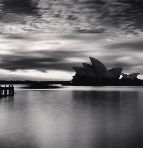 Michael Kenna - Sydney Opera House, Study 1, Sydney, New South Wales, Australia. 2013