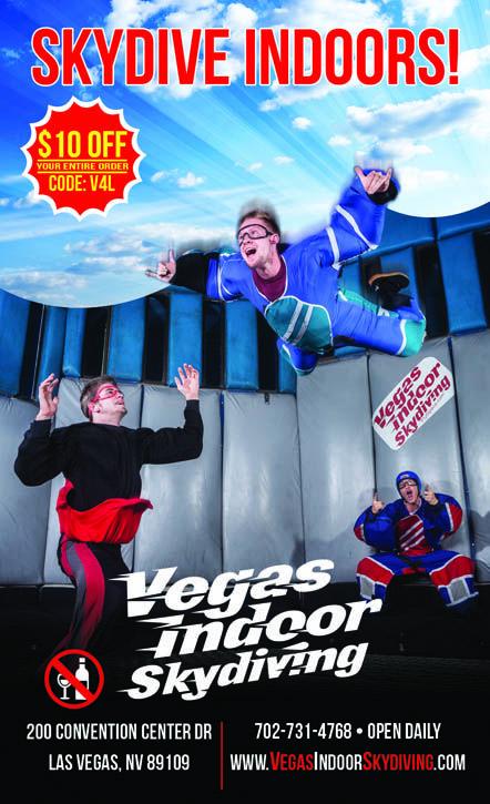 Vegas Indoor Skydiving - Save $10 | Vegas4Locals.com