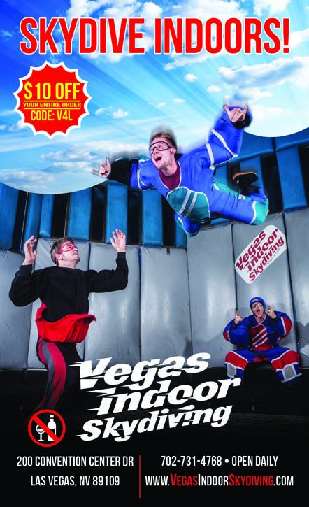 Vegas Indoor Skydiving - Save $10 | Vegas4Locals.com