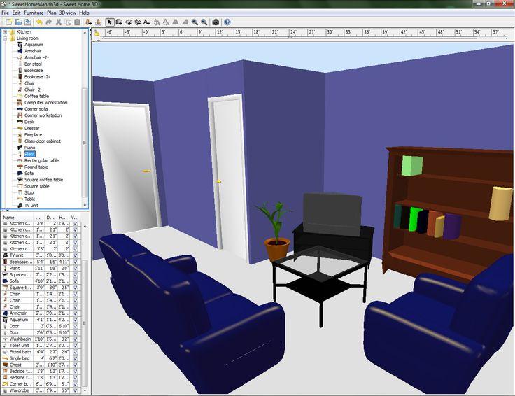 innenarchitektur 3d software free – ragopige, Innenarchitektur ideen