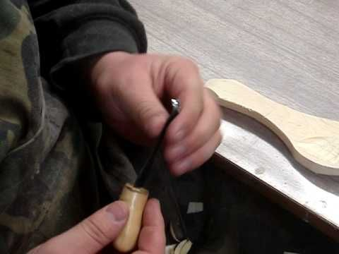 Spoon carving tools and safety equipment - YouTube