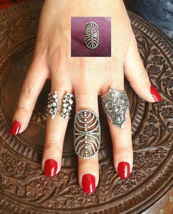 Alex ring tribal ring gypsy boho ring  eternity ring  lace