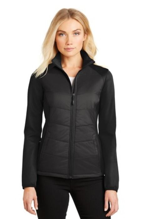 Port Authority Ladies Hybrid Soft Shell Jacket L787 Lance Gear Pinterest Shells Jackets And Gears