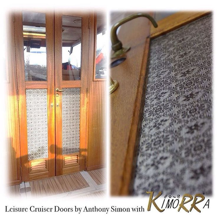 "2 Likes, 1 Comments - Changing The Face (@ctfoc) on Instagram: ""Great work by Anthony Simon on these leisure cruiser doors with Kimorra® panels  See more collabs…"""