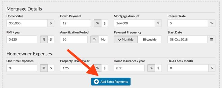 The Best Mortgage Calculator With Extra Payments Mortgage Calculator Tips And Inforamation Of Homeowner I Mortgage Calculator Mortgage Homeowners Insurance