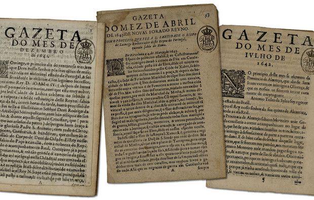 Foi o primeiro jornal português. E ajudou D. João IV a consolidar o poder em 1640