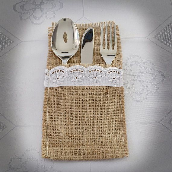 Hey, I found this really awesome Etsy listing at https://www.etsy.com/listing/157756979/burlap-silverware-holder-flatware-holder
