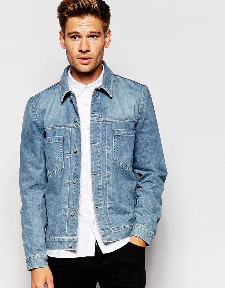 ASOS Denim Jacket in Slim Fit