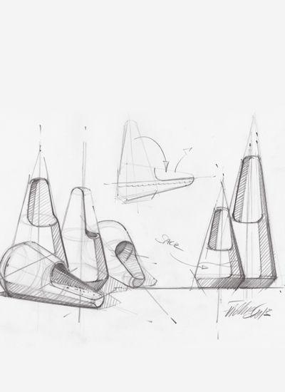 MONDO SKETCHES /  Thomas Feichtner   Saliera Sketches #id #design #product #sketch