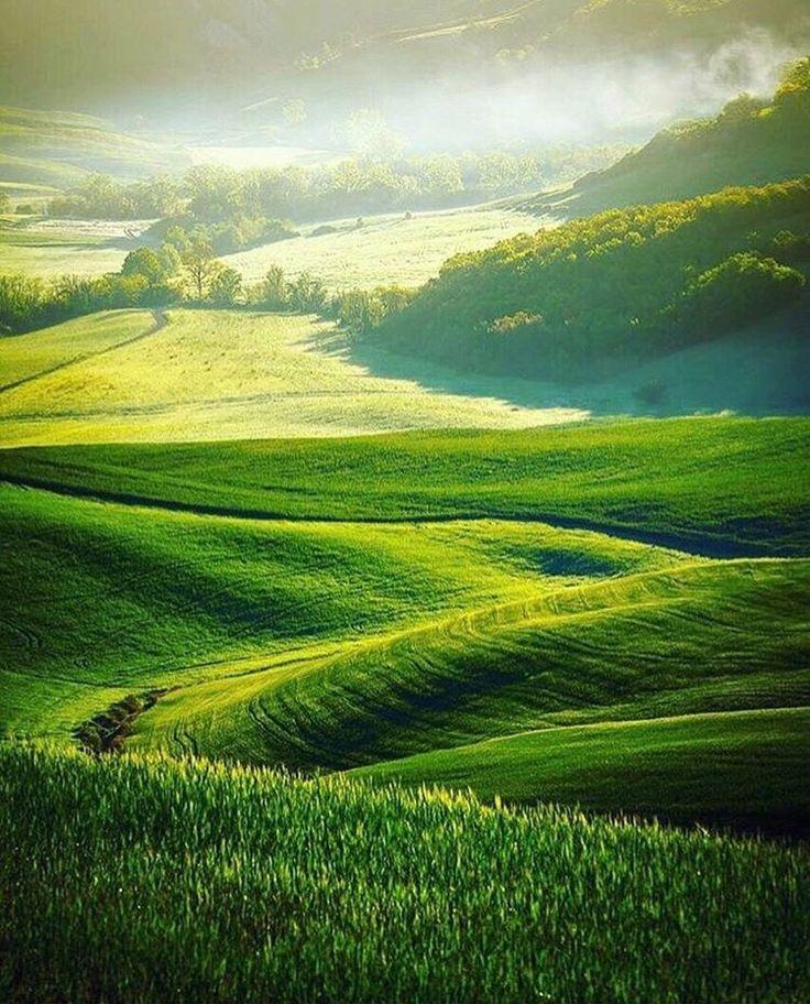 Vale de Orcia, Toscana, Itália