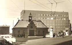 Kampin paloasema. Purettu 1960.