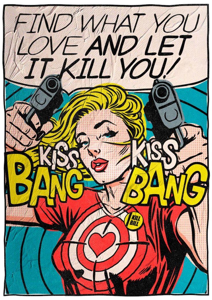 Bukowski: The Pop Art Series est le dernier projet du talentueux et prolifique illustrateur Butcher Billy, qui a décidé de mettre en scène des citations du