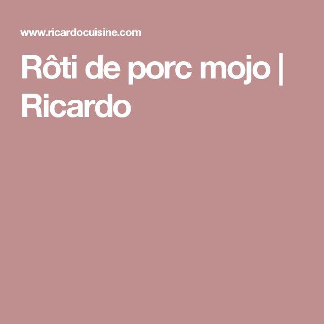 Rôti de porc mojo | Ricardo