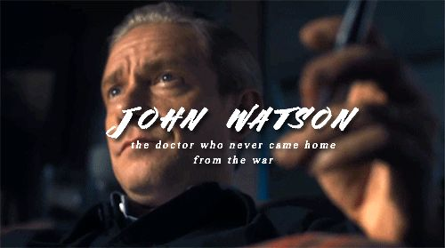 """dr-johnwatson: """"When all else fails, there are two men sitting, arguing, in a scruffy flat like they've always been there, and they always will. The best and wisest men I have ever known."""""""