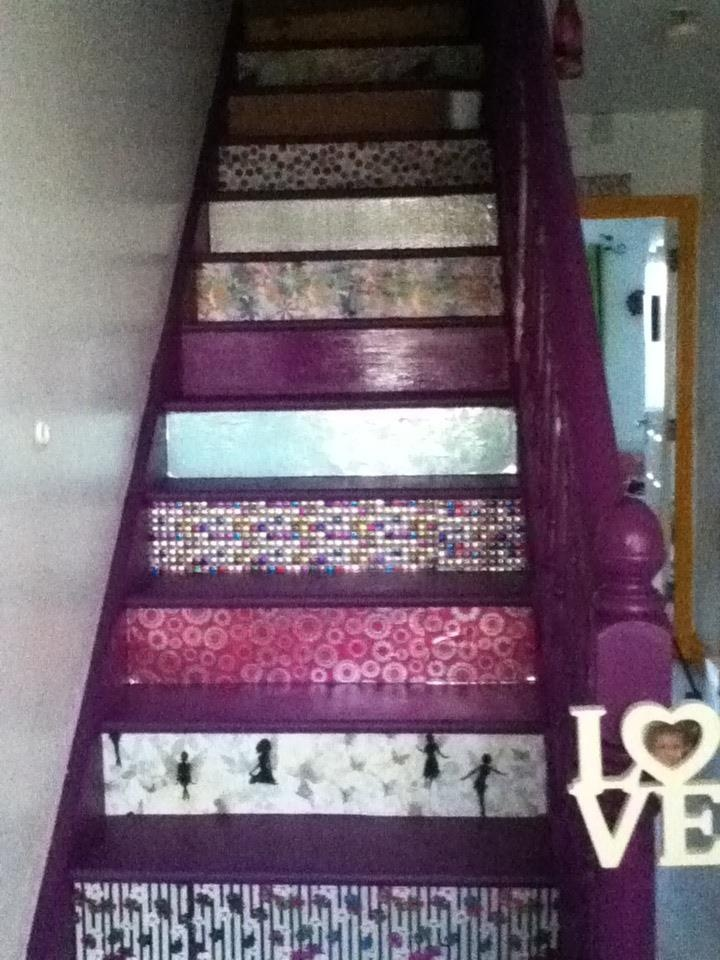 my new wrapping paper stairs ;)