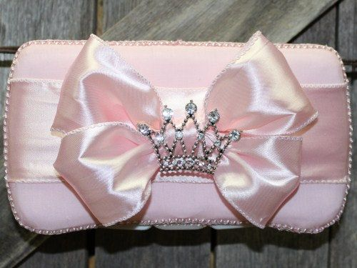 Pink Princess Baby Wipe Case by 1CreationsoftheHeart on Etsy, $27.00