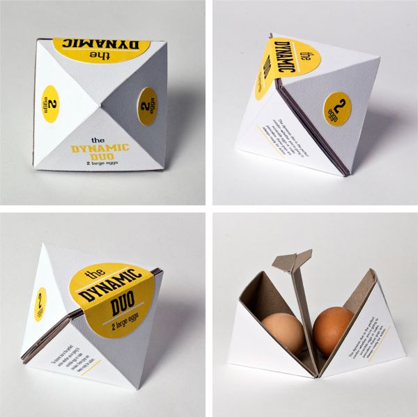 Eggs packaging.