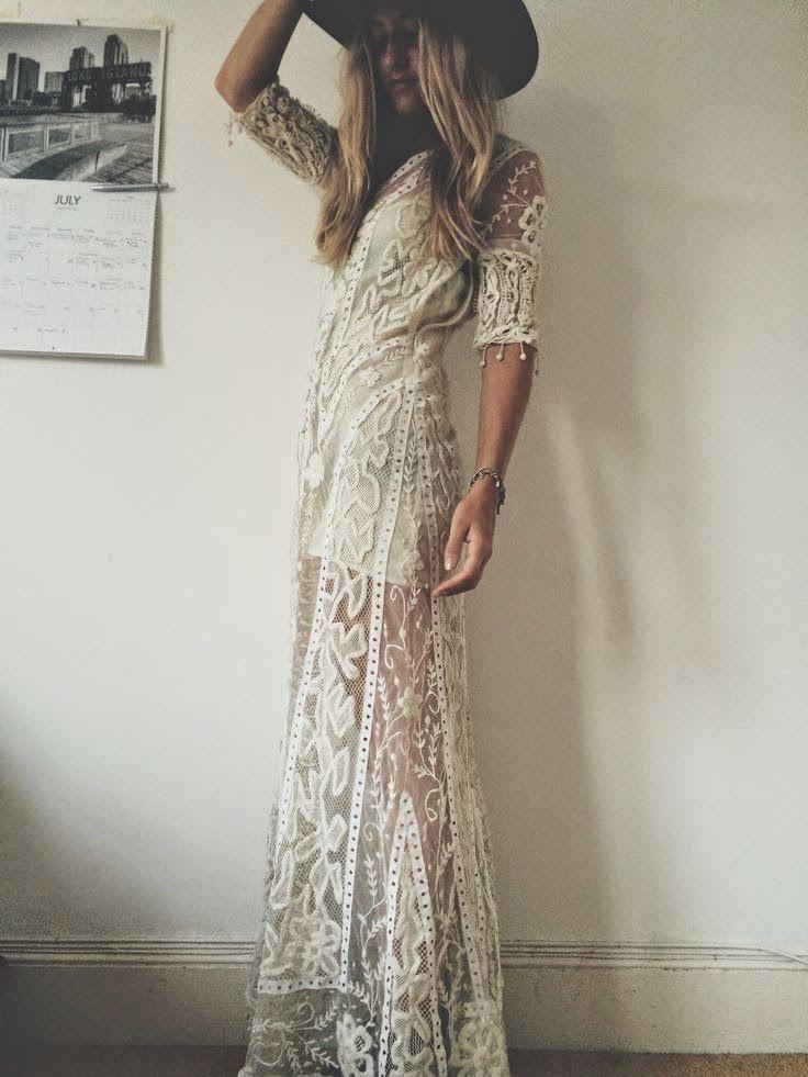 boho lace dress... amazing