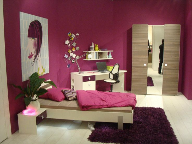 Moderne spavaće sobe za tinejdžere  Dečija soba  Pinterest
