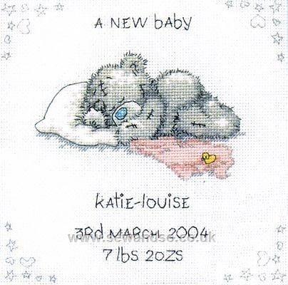 A New Baby Birth Sampler