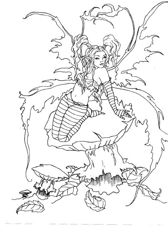 amy brown coloring pages free - photo#14
