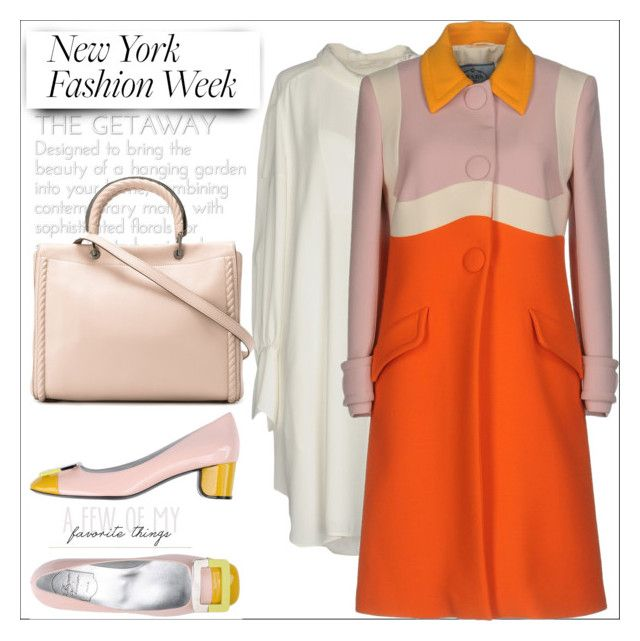 What to Wear to NYFW by evachasioti on Polyvore featuring Chloé, Prada, Roger Vivier, MaxMara, NYFW, MyStyle and polyvorecontest