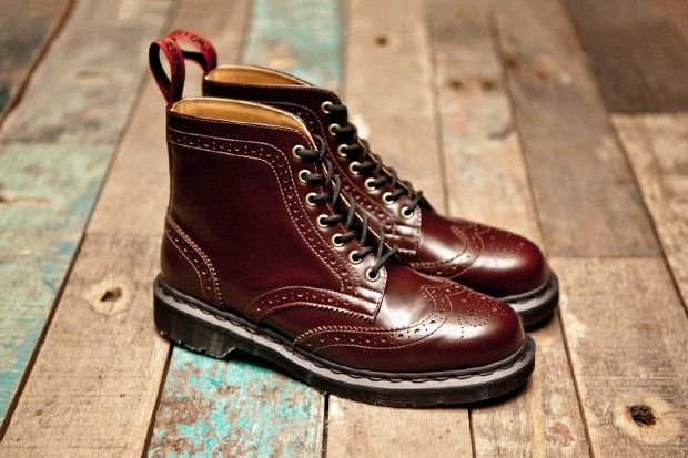 Dr Martens x Beams 7-Eye Brogue Boot Oh my god. These are literally the most perfect shoes I have ever seen.