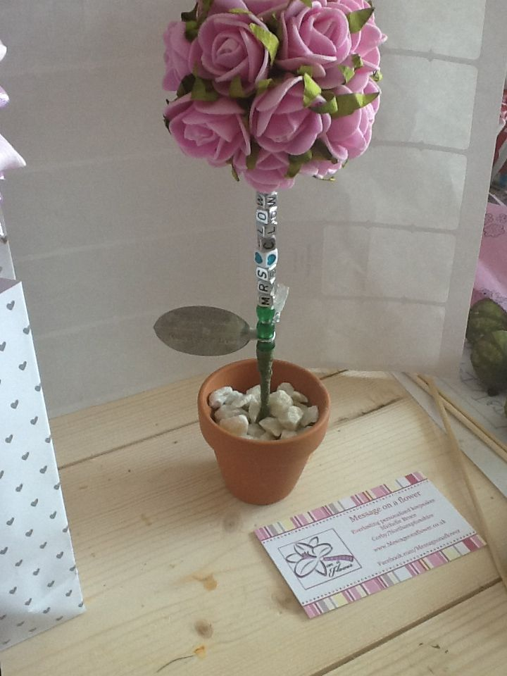 Mini rose trees perfect for the teachers £8.50 start prices