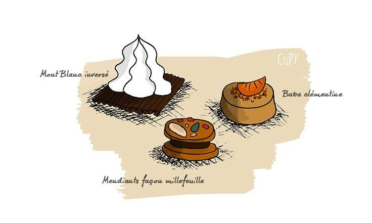 Le café gourmand spécial Noël ! :D Super simple à réaliser.. et si gourmand !  Recette par ici sur mon blog CUPY !  #café #gourmand #recette #recipe #cupy #foodblog #blogueuse #article #cuisine #cook #cooking #millefeuille #mendiants #montblanc #baba #clémentine #meringue #chocolat #girl #woman #pâtisserie #dessert #noel #christmas #fêtes #newyear #idée #idea #blog #recettedecuisine #facile #rapide #dessin #illustration #croquis #draw #color #couleur