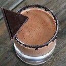 Chocolate Margarita 1 ¾ oz silver tequila 1 ½ oz orange liqueur 1 oz Kahlua 1 oz half n half 1 ½ TBS chocolate syrup ice Oreo cookies