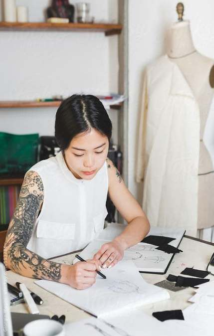 26 Ideas For Fashion Design Student Drawings