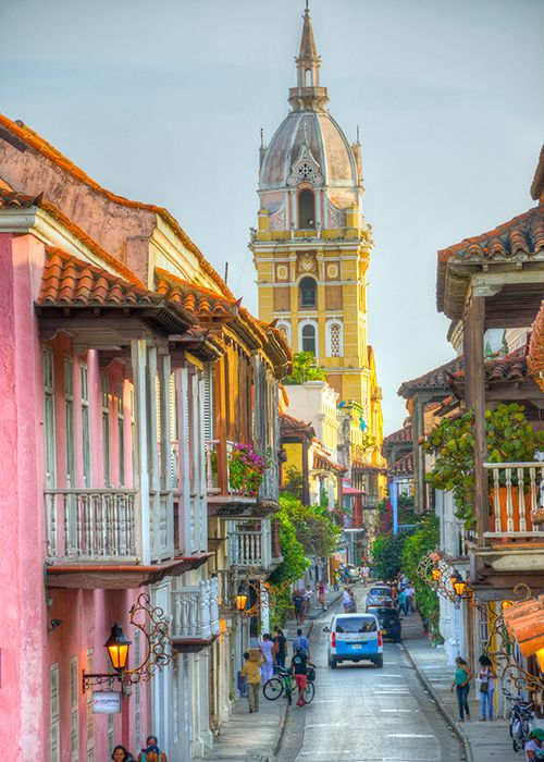 Brides: Mini Honeymoon Idea: 3 Days in Cartagena, Colombia