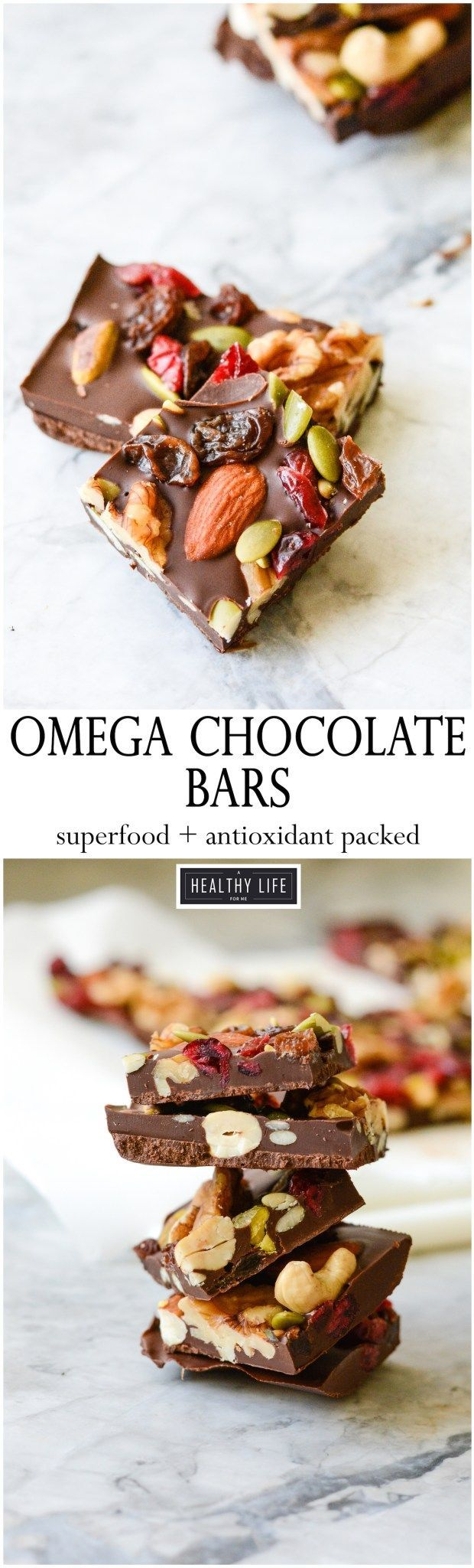 Omega Chocolate Bars
