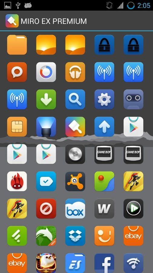 MIUI 5 - Icon Pack - screenshot