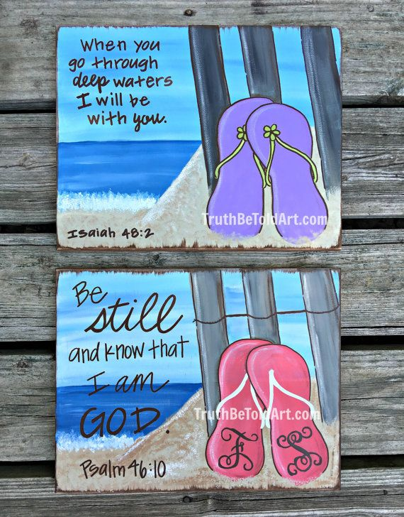 Truth+Be+Told+Art+Flip+Flop+Design+by+TruthBeToldArt+on+Etsy