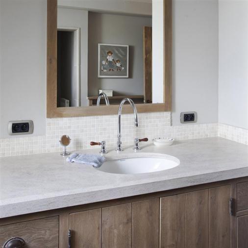 Bourgondisch kruis rustieke bouwmaterialen realisaties badkamer badkamer pinterest - Rustieke badkamer meubels ...