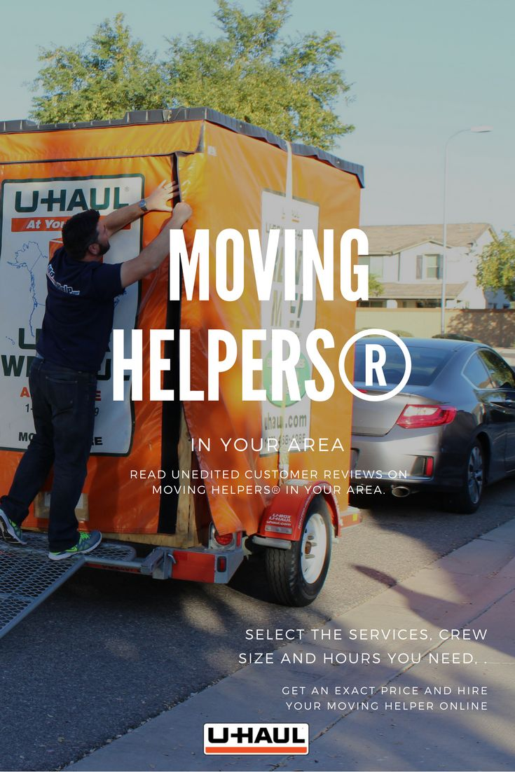 Find trusted Moving Helpers® in your area. Read unedited customer reviews on Moving Helpers® local to you. Select the services, crew size and hours you need, get an exact price and hire your Moving Helper online. Payment to your Moving Helper® is not authorized until your move is completed and you are completely satisfied. I Planning for a Move