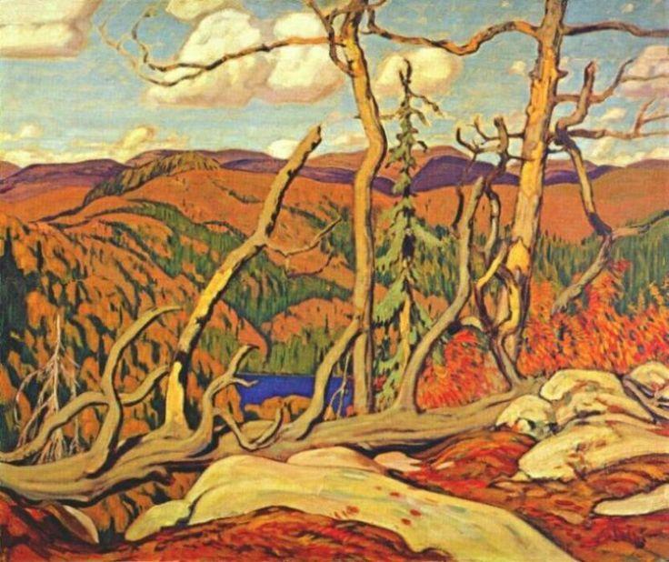 Autumn Algoma, 1918 by J. E. H. MacDonald. Art Nouveau (Modern). landscape