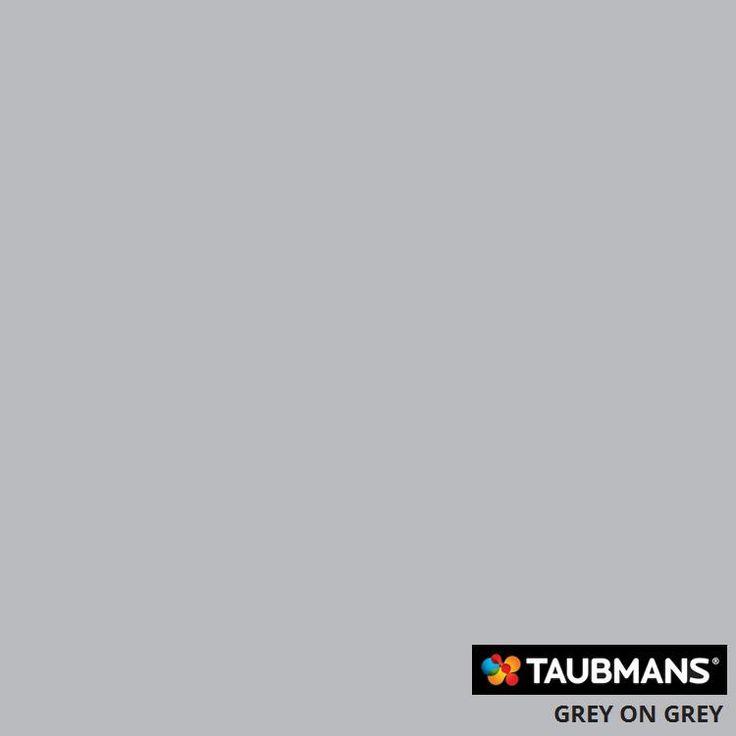 #Taubmanscolour #greyongrey