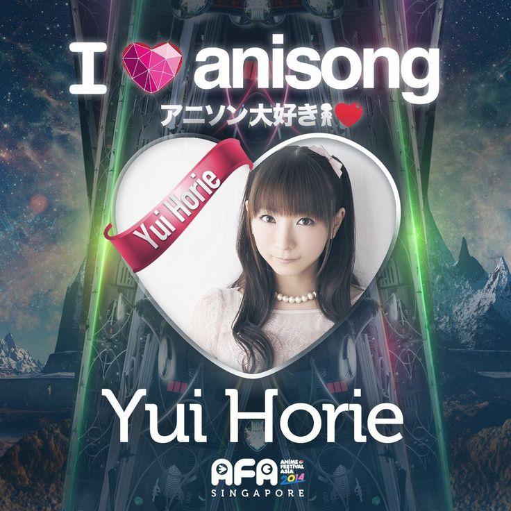 [JMUSIC] AFA 2014 I Love Anisong Artiste Feature - Yui Horie - http://www.afachan.asia/2014/09/jmusic-afa-2014-love-anisong-artiste-feature-yui-horie/
